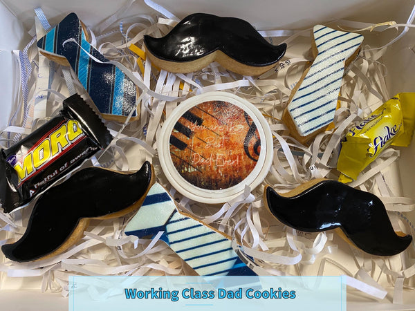 FATHER'S DAY COOKIE PACK - WORKING CLASS DAD COOKIE PACK