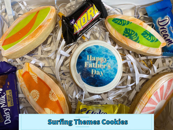 FATHER'S DAY COOKIE PACK - SURFING COOKIE PACK