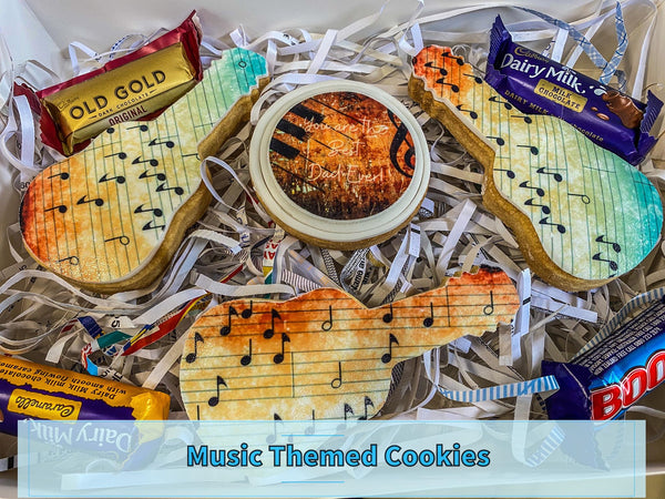 FATHER'S DAY COOKIE PACK - MUSIC THEMED COOKIE PACK