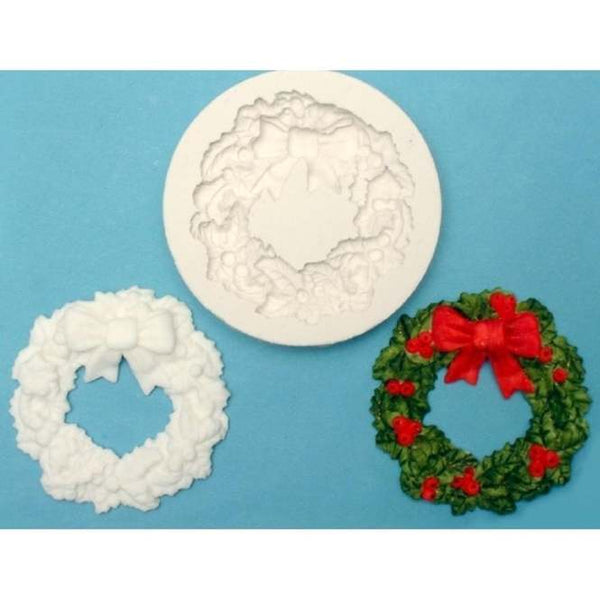 FPC Sugarcraft Moulds  - Holly Wreath