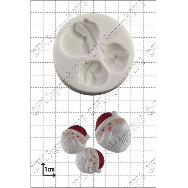 FPC Sugarcraft Moulds  - Mini Santa Faces