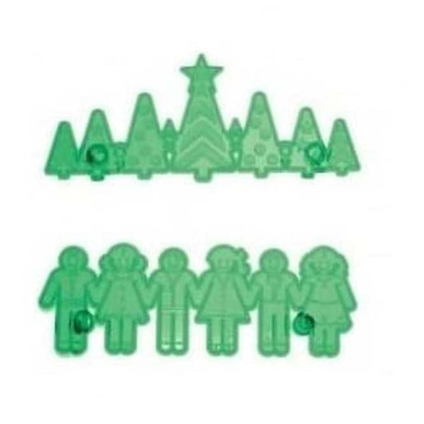 Jem Christmas Tree Border & Kids Frieze