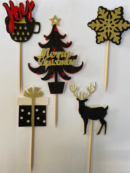 Assorted Christmas Toppers