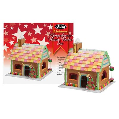 D. Line Gingerbread House Kit