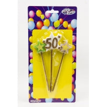NO 50 STAR PICK CANDLE - FLOUR POWER