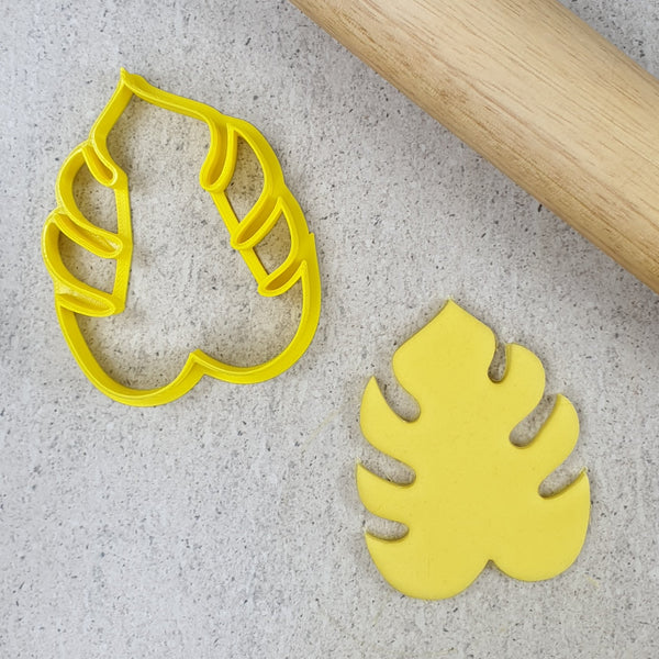 Custom Cookie Cutters - Monstera Leaf Cutter