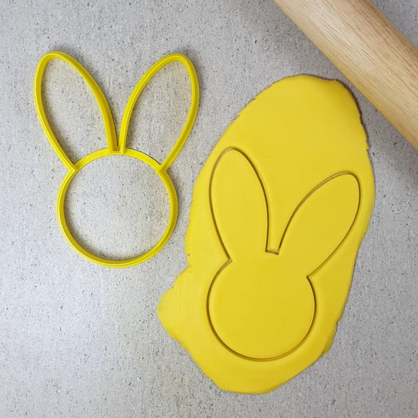 Custom Cookie Cutters - Bunny Ears Cookie Cutter