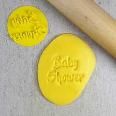 Custom Cookie Cutters - Baby Shower Embosser