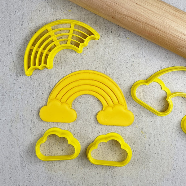 Custom Cookie Cutters - Rainbow Cutter Set