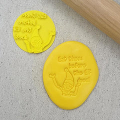 Custom Cookie Cutters - Eat Them Before The Elf Does! Embosser