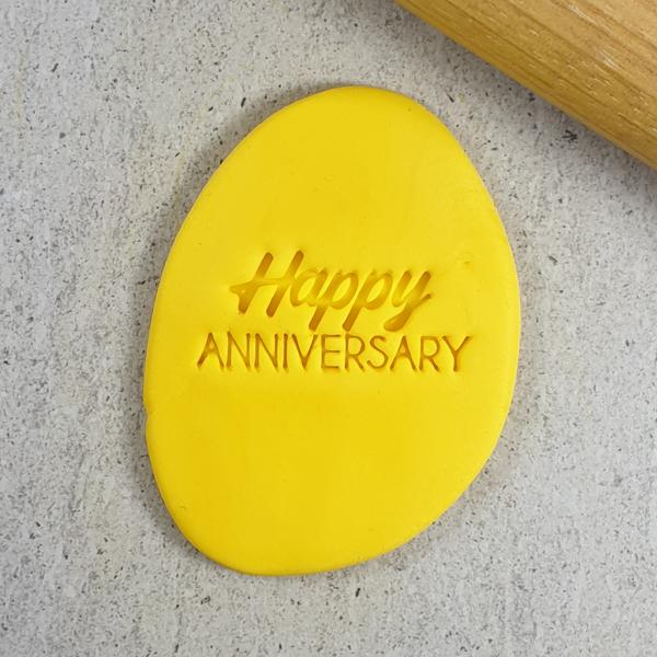 Custom Cookie Cutters - Happy Anniversary