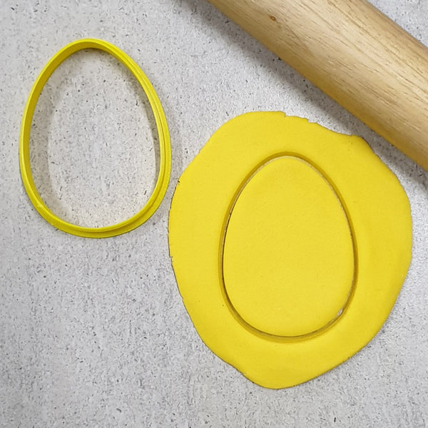 Custom Cookie Cutters - Egg Cutter