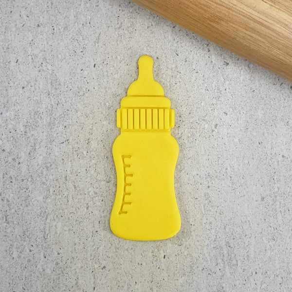 Custom Cookie Cutters - Baby Bottle Embosser & Cutter Set