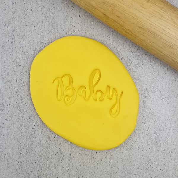 Custom Cookie Cutters - Baby V2 Embosser