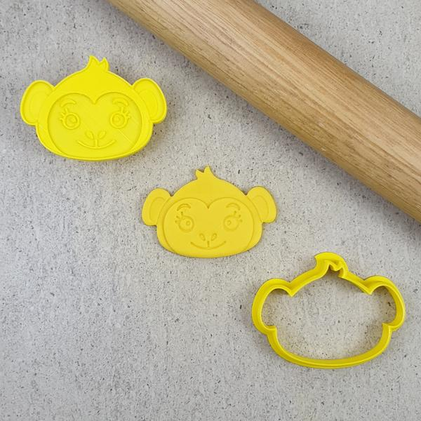 Custom Cookie Cutters - Monkey Debosser & Cutter