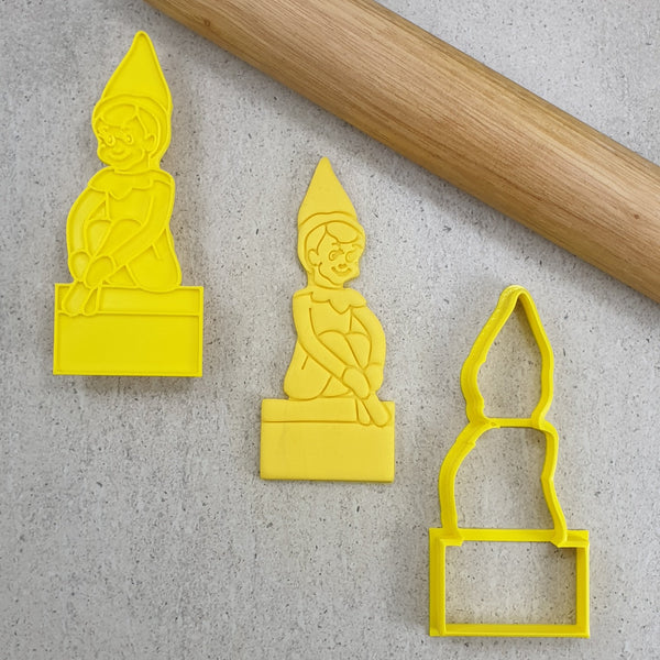 Custom Cookie Cutters - Elf On The Shelf Cutter and Embosser