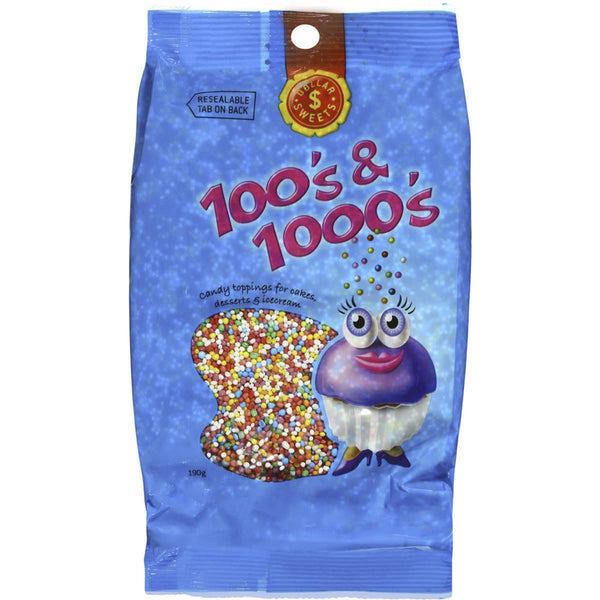 Dollar Sweets 100's & 1000's 190g
