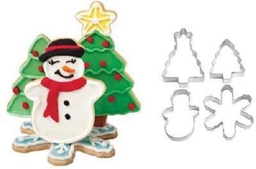 Wilton Cookie Cutter Set - 4 pc