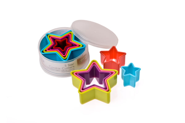 D. Line Star Cookie Cutter Set