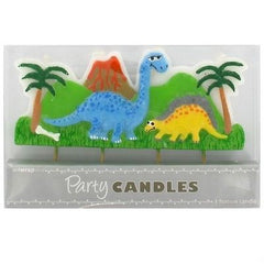 Party Candles - Dinosaurs