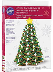 Wilton Christmas Tree Cookie Cutter Kit