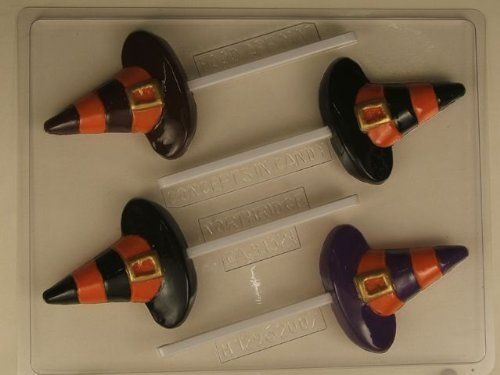 Striped Witches Hat Chocolate/Lolly Mould