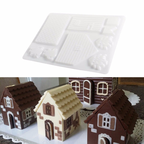 Gingerbread House 3D Chocolate Mould