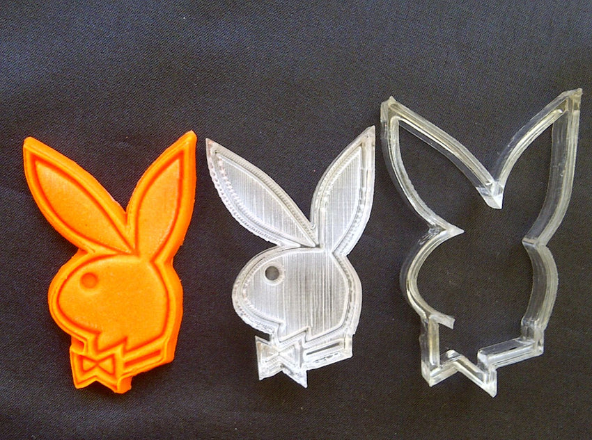 Bakery Sugarcraft Playboy Bunny Stamp Cutter