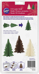 Wilton 3D Christmas Tree Chocolate Mould