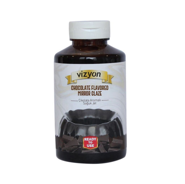 CHOCOLATE GLAMOUR MIRROR GLAZE - VIZYON - READY TO USE - 500g