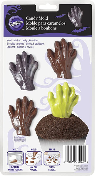 Wilton Candy Mould- Zombie Hands