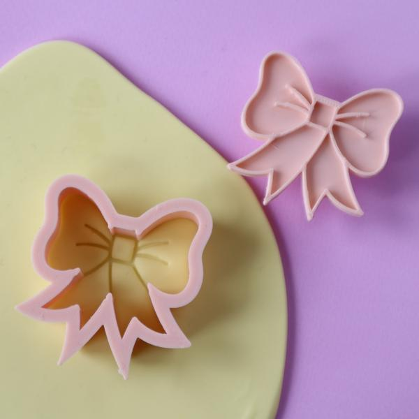 Custom Cookie Cutters - Little Biskut Bow Cutter Set