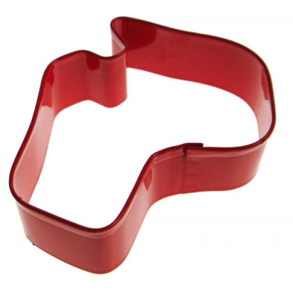Australia Cookie Cutter 8.5cm RED