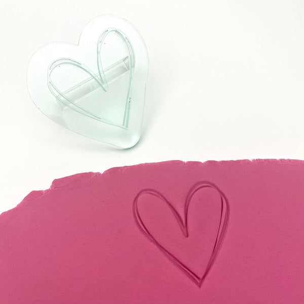 Cutter Craft - Embosser - Scribble Heart