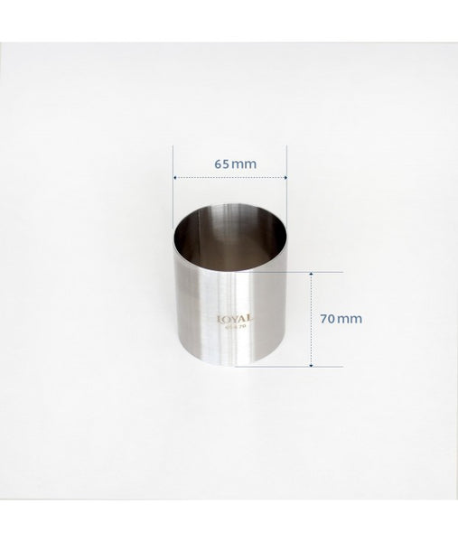Mousse Ring - 65mm FOOD/STACKER RING S/S