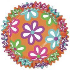 Flowers ColorCups Baking Cups - Wilton Cupcake Cases 36