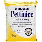 BAKELS RTR YELLOW ICING 250G