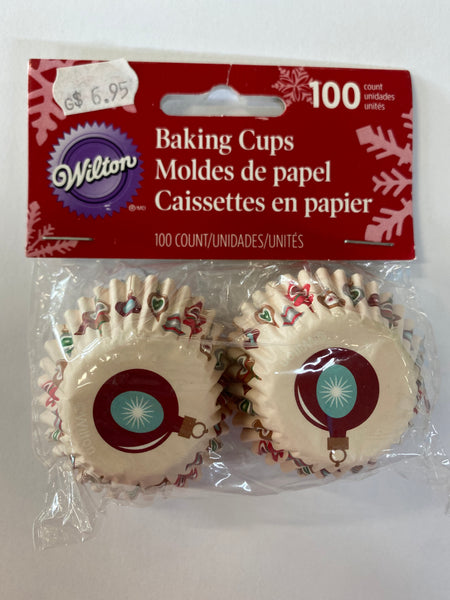 Wilton Mini Baking/ Treat Cups - Baubles