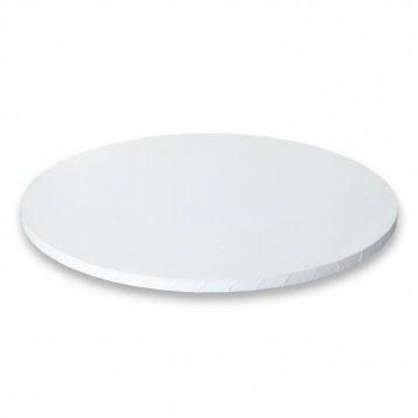 CAKE BOARD | WHITE | 14 INCH | ROUND | MDF | 5MM THICK