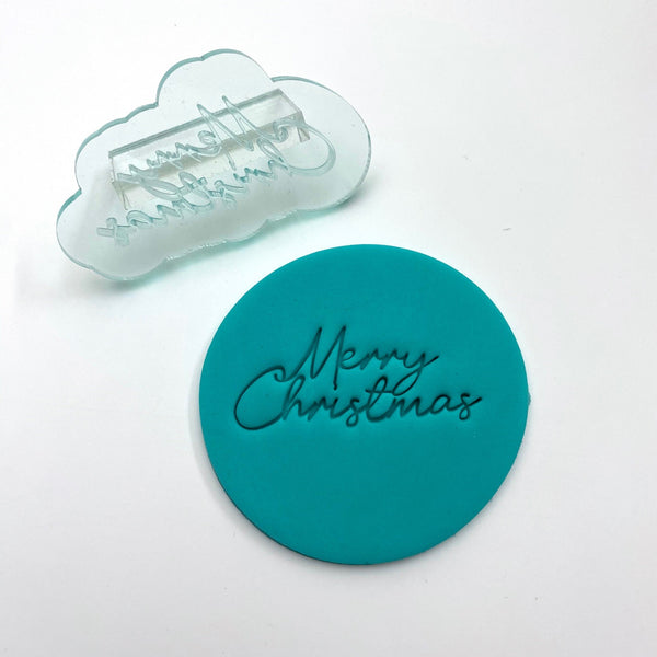 Cutter Craft - Embosser - Merry Christmas Plain