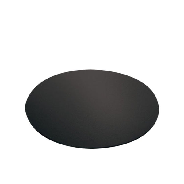 CAKE BOARD | BLACK | 13 INCH | ROUND | MDF | 5MM THICK