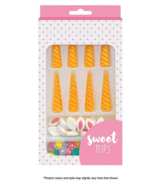 SWEET TOPS | UNICORN PARTS | DECORATING SET | 8 SETS