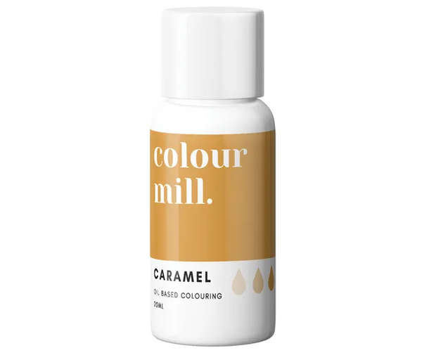 CARAMEL - COLOUR MILL - 20mL - FOOD COLOUR