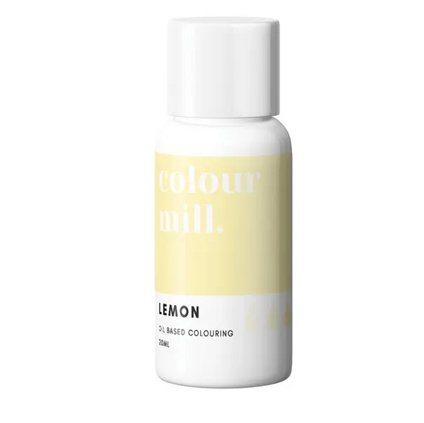 LEMON YELLOW - COLOUR MILL - 20mL - FOOD COLOUR
