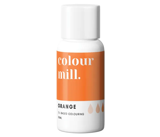 ORANGE - COLOUR MILL - 20mL - FOOD COLOUR