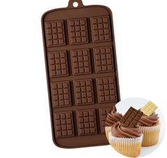 MINI CHOCOLATE BLOCK | SILICONE MOULD