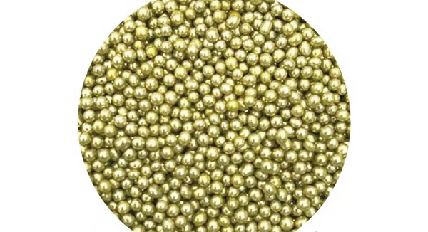 SPRINK'D | CACHOUS/BALLS | 4MM | METALLIC GOLD 60g