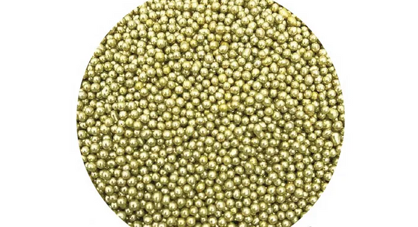 SPRINK'D | CACHOUS/BALLS | 2MM | METALLIC GOLD| 60g
