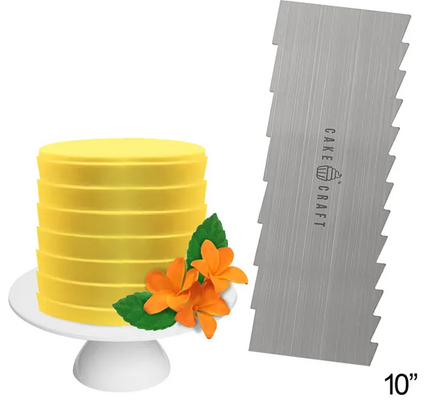 CAKE CRAFT | BUTTERCREAM COMB | PLEATS | 10 INCH