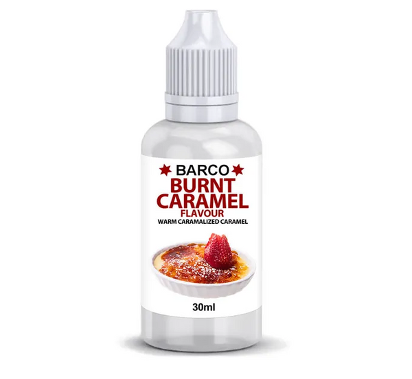 BARCO | FLAVOURS | BURNT CARAMEL | 30ML